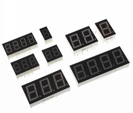 0.36 inch 1/2/3/4 bit LED display 7 Segment Common Cathode / Anode 1/2/3/4 Digit 0.36inch Display Tube Red 7Segment LED Display 3