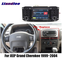 2din Für Jeep Grand Cherokee 1999-2004 Auto Radio Wince GPS Maps Navigation Player BT WIFI HD Screen Multimedia system