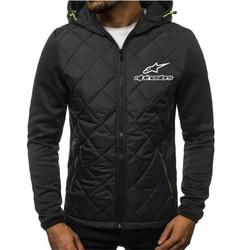 2020 nova moda com capuz emendado jaqueta alpine star hoodies dos homens camisolas casaco casual com capuz cardigan plus velo roupas finas