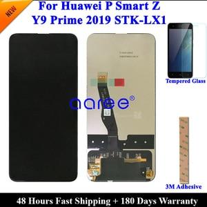 Image 1 - テストオリジナル Lcd ディスプレイ P スマート Z 液晶 Huawei 社 Y9 プライム 2019 ディスプレイ液晶画面タッチデジタイザーアセンブリ