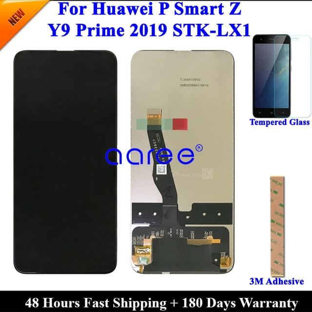 テストオリジナル Lcd ディスプレイ P スマート Z 液晶 Huawei 社 Y9 プライム 2019 ディスプレイ液晶画面タッチデジタイザーアセンブリ