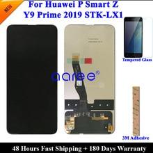 Test orijinal LCD Ekran Için Huawei P Akıllı Z LCD Için Huawei Y9 Prime 2019 Ekran LCD Ekran dokunmatik sayısallaştırıcı tertibatı