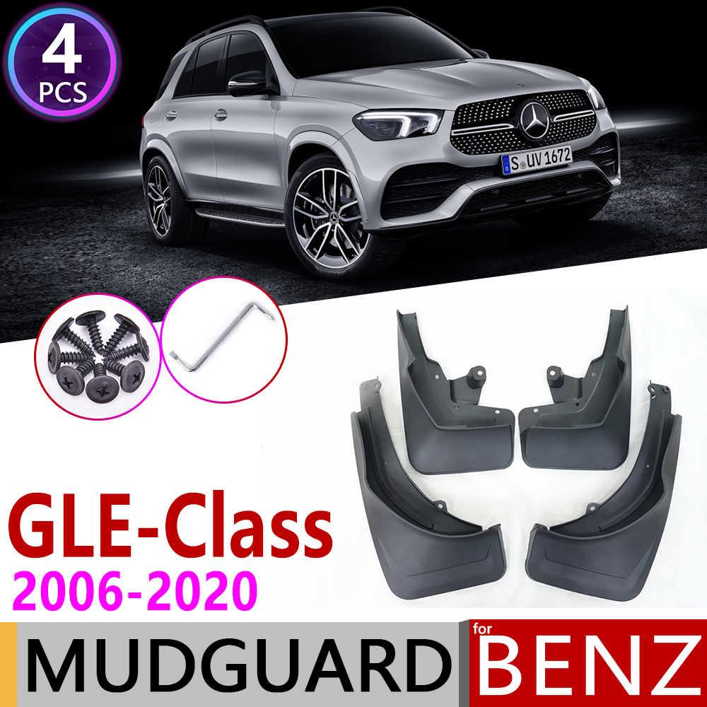 JTAccord Car Mud Flap Car Fender Mud Guard Splash Flaps Mudguards for Mercedes Benz GLC-Class GLC X253 2016 2017 2018 2019,Black,Body Fittings,Car Accessories,4pcs//set