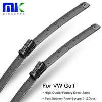 Limpiaparabrisas para VW Golf Mk4/Mk5/Mk6/Mk7 2002-2018 accesorios de parabrisas para coche