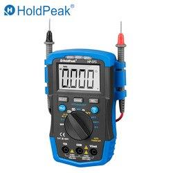 HoldPeak DC/AC мини цифровой мультиметр HP-37C 1999-6000 Сопротивление Емкость Частота Рабочий цикл тестер NCV метр инструменты