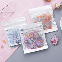 Cute Soft Epoxy Hand Account Sticker Decoration Material Transparent Tool Set Scrapbooking Stationery Sticker Student Supplies