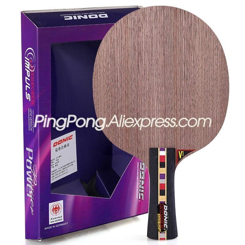 DONIC Ovtcharov Senso V1, лезвие для настольного тенниса (7 слойное дерево), оригинальная ракетка для настольного тенниса, оригинальная ракетка для пинг понга|racket ping pong|ping pong batping pong | АлиЭкспресс