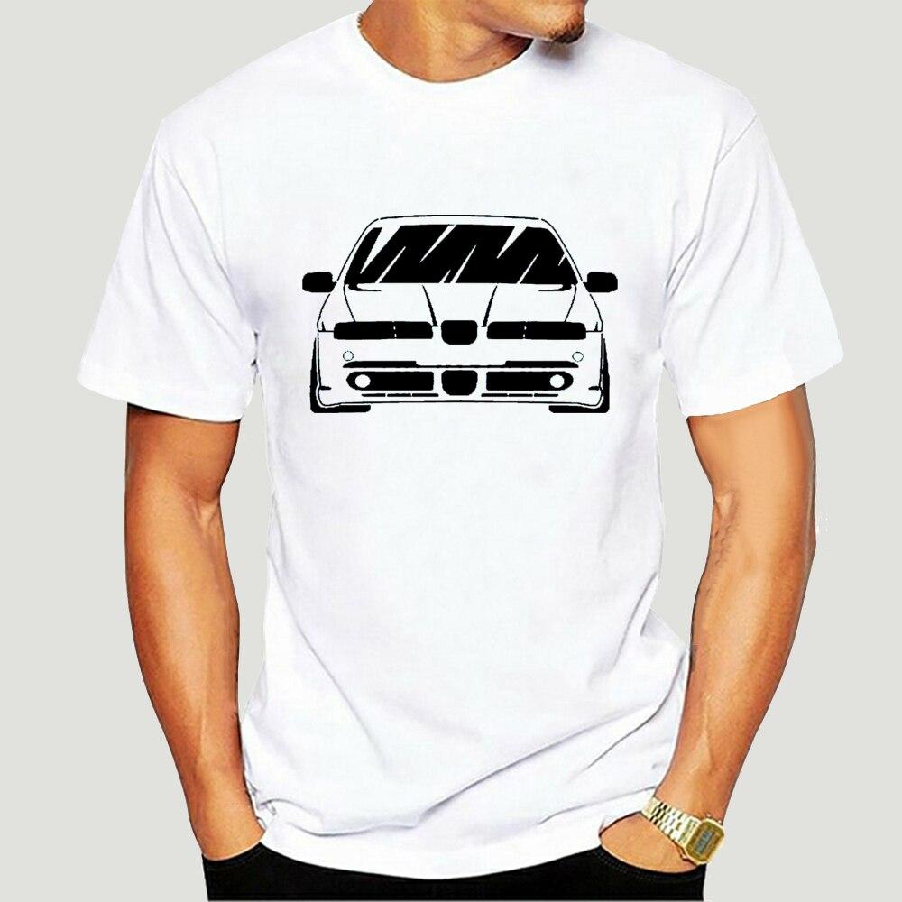 Camisa branca assento leon fr mk1-mostrar título original 2019 nova moda masculina topo Tee-0162D
