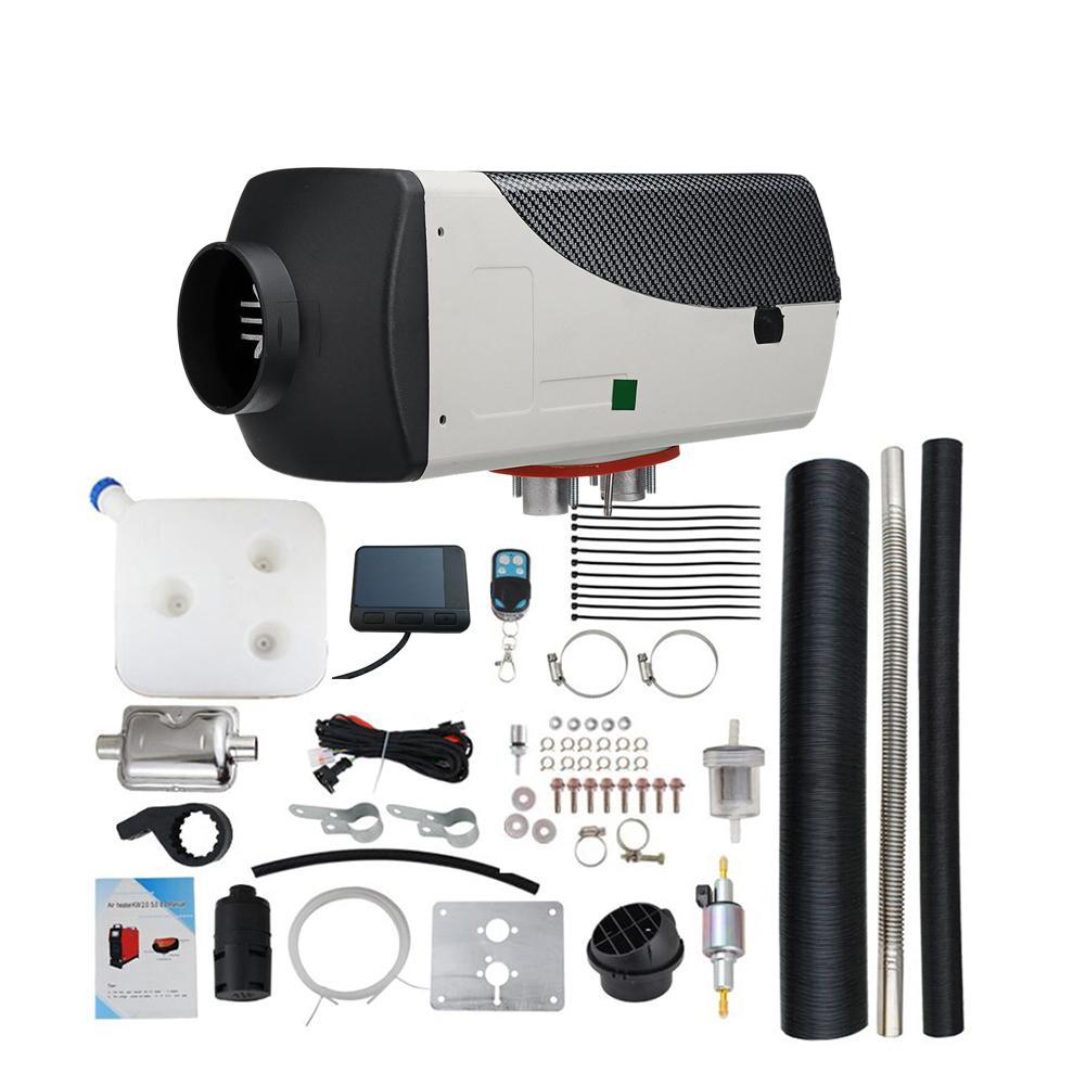 1-8KW 12V/24V Diesels Fuel Air Parking Heater Car Air Heater For RV Motorhome Trailer Truck Battery Vehicles Air Diesels Heater