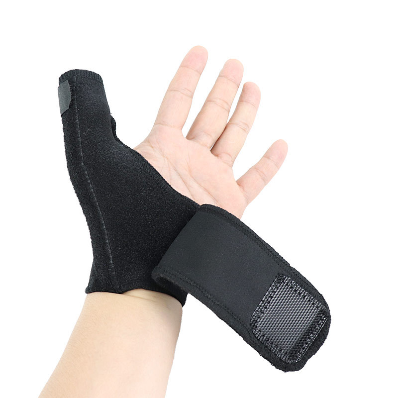 Hot Sales Wrist Guard Thumb Sheath Steel Bar Support Fixed Thumb Fixing Band Sport Ware