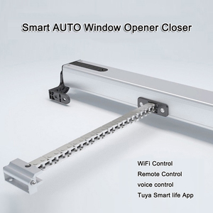 Image 1 - A OK electric window opener, 4 wires motor, smart controlled by your wired controller Google/ Amazon alexa etc.
