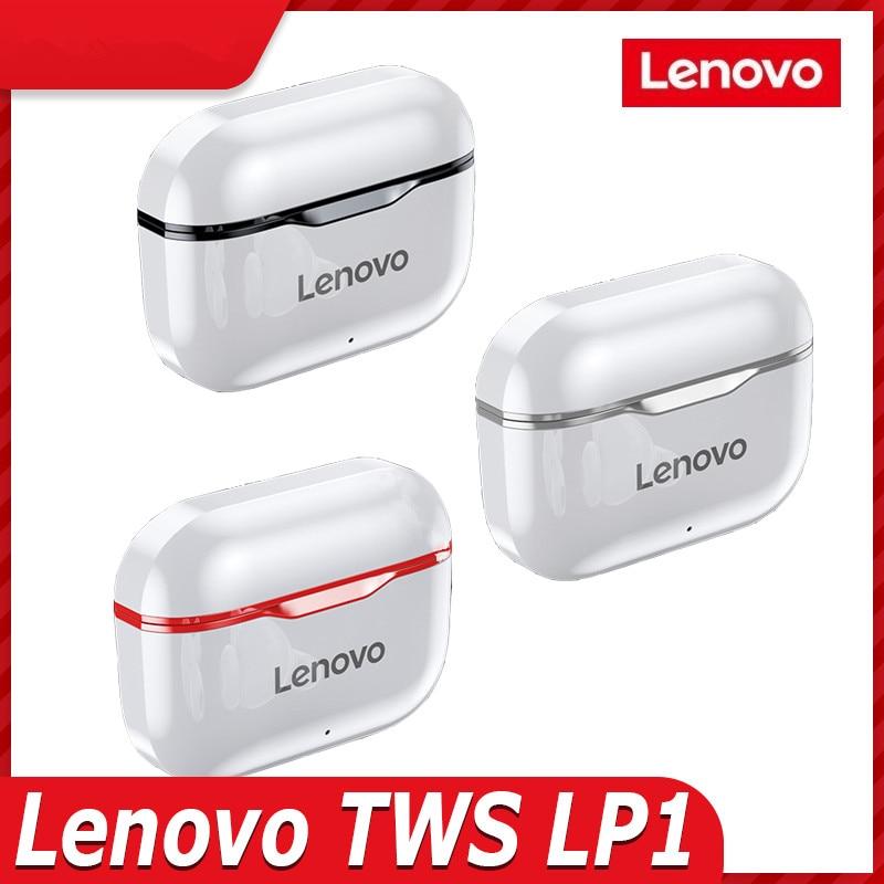 Новые беспроводные наушники Lenovo LP1 TWS BT5.0 лучший выбор для спорта, бега, бега трусцой и т.д