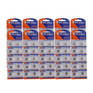 Image 1 - 100 個/10 カードAG2 1.5v 396 SR726SW SR59 726 LR59 0% 水銀ボタン電池弾丸の卵腕時計電卓リモコン