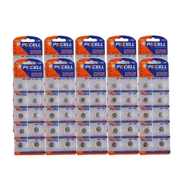 100 個/10 カードAG2 1.5v 396 SR726SW SR59 726 LR59 0% 水銀ボタン電池弾丸の卵腕時計電卓リモコン