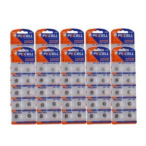 Image 1 - 100 pièces/10 carte AG2 1.5V 396 SR726SW SR59 726 LR59 0% mercure bouton piles pour balles oeufs montres calculatrices télécommande