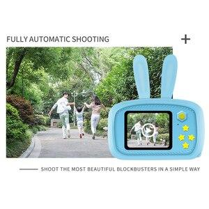 Image 3 - Детская мини камера Full HD 1080, портативная цифровая фотокамера с 2 дюймовым экраном, развивающие игрушки для улицы