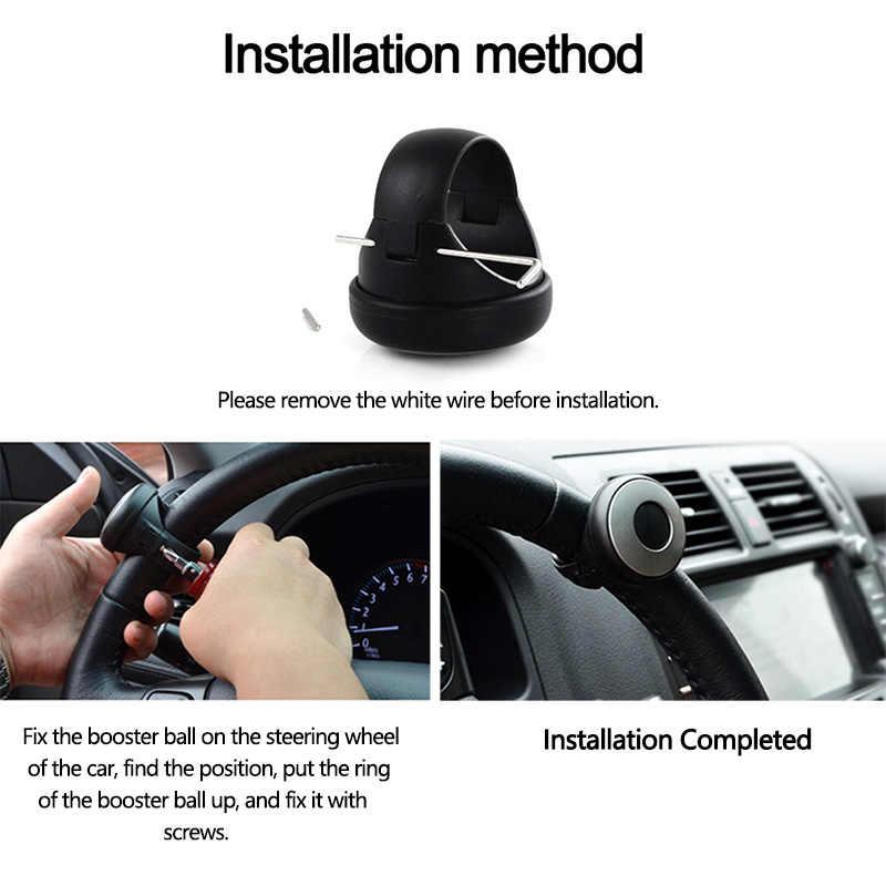 Kemudi Mobil Booster Membantu Rolling Menangani Control Spinner Teering Roda Spinner Pegangan Tambahan Penguat