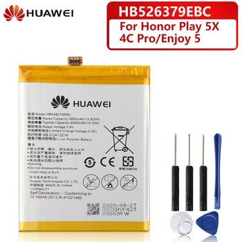 Original Replacement Battery For Huawei Enjoy 5 TIT-AL00 CL10 Honor 4C Pro / Y6 PRO HB526379EBC Honor Holly 2 Plus TIT-L01 цена 2017