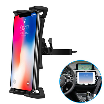 Vmonv Adjustable Car CD Slot Tablet Phone Car Holder for iPhone X 8 Samsung 4-13 Inch Tablet Stand for iPad Air Mini Pro 12.9