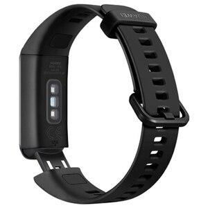 Image 5 - מקורי Huawei להקת 4 חכם להקת חכם שעון צמיד לב קצב בריאות צג חדש שעון פרצופים USB תשלום התוספת עמיד למים