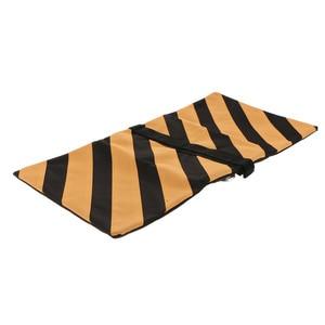 Image 2 - 5kg Capacity Boom Arm Tripod Sand Bags Durable Canvas Heavy Duty Sandbags Orange & Black for Photography