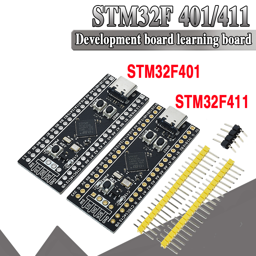 Original STM32F401 256KB ROM Development Board V1.2 STM32F401CCU6 STM32F411CEU6 STM32F4 Learning Board