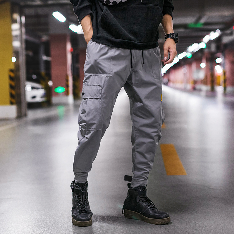 @ Easy To Fashion Men'S Wear 2018 Autumn New Style INS Ankle Banded Pants Japanese-style Fashion Men's Casual Men's Trousers