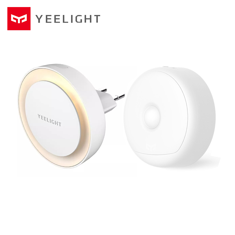 Yeelight Night Light With Body Motion Sensor USB Charge LED Light Infrared Magnetic With Hooks For Baby Children