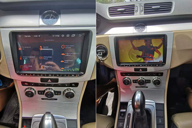 ANDROID VW GOLF PASSAT CC VOLKSWAGEN 4G (3)