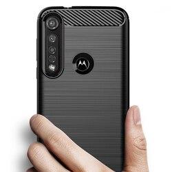 На Алиэкспресс купить чехол для смартфона carbon fiber cover shockproof phone case for motorola moto g8 e6 e5 g6 g7 play plus one macro action e6s zoom cover bumper case