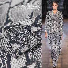Новинка весна лето шелковая ткань jorgette с цифровым принтом