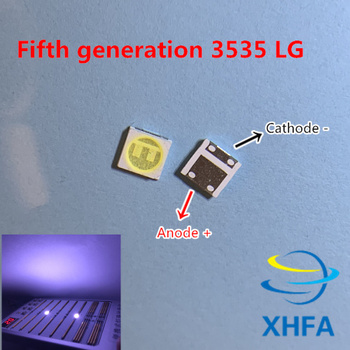 20 PCS For LG LED LCD Backlight TV Application High Power LED Backlight 2W 6V 3535 SMD LED Cool white image