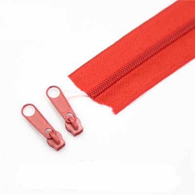 3 # צבעוני חצר ניילון רוכסן DIY בעבודת יד תפירת מצעים להחזיק כרית רוכסן אביזרי 10 מטרים\חבילה מתנה 10 רוכסן חולץ