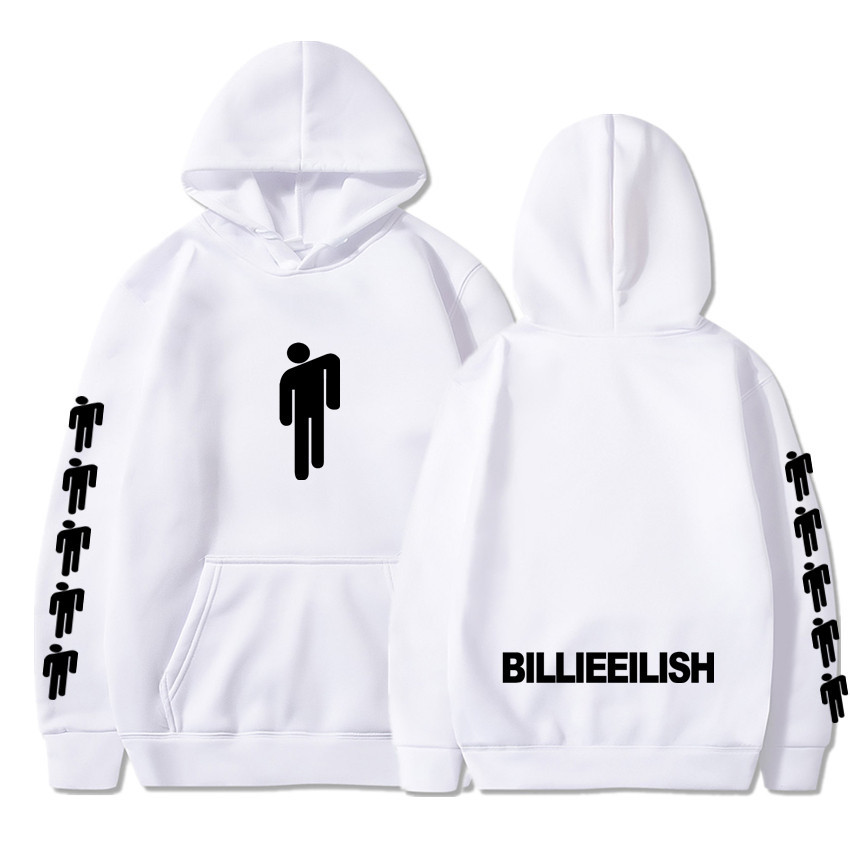 Billie Eilish Fashion Printed Hoodies Women/Men Long Sleeve Hooded Sweatshirts 2020 Hot Sale Casual Trendy Streetwear Hoodies