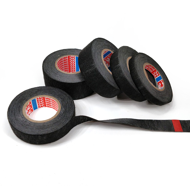 New Heat-resistant Adhesive Cloth Tape For Cable Harness Wiring Loom 15M Heat-resistant Wiring Harness Fabric Flannel Tape