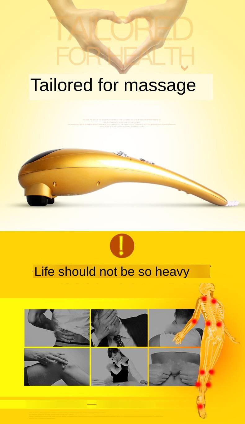 Esfregar a cabeça de Massagem Para O