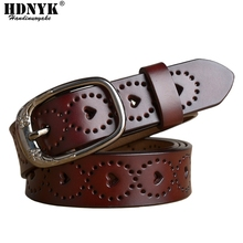 Women fashion belts genuine leather strap women semboss leather belts hot leather belt woman flower tyPes Buckle