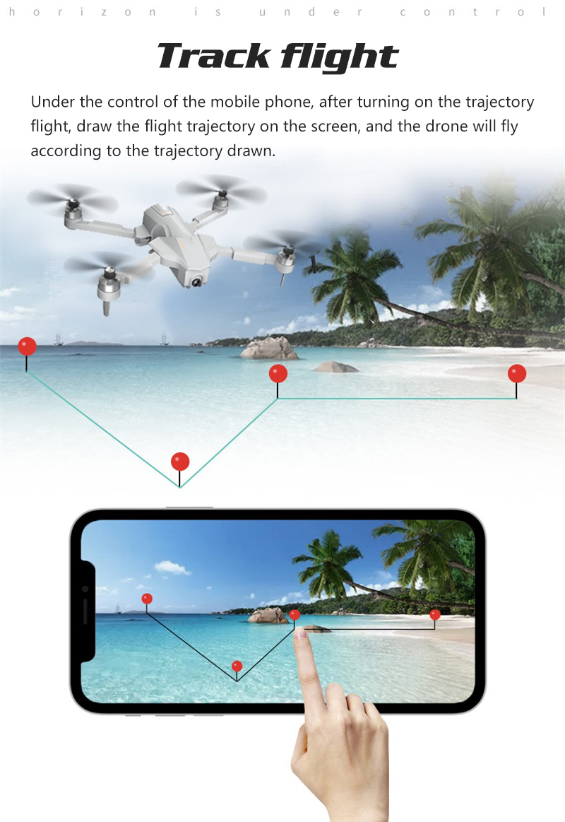 4K GPS Drone with Wifi FPV HD Camera Brushless Quadcopter For Long Flying Time 17