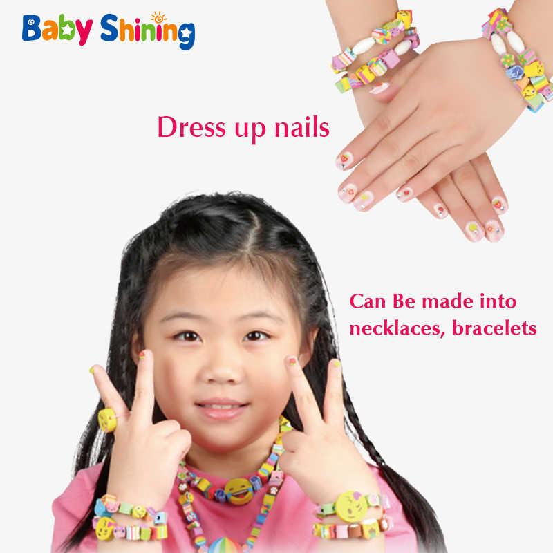 Детские блестящие креативные в форме сердца прорезиненный ткацкий станок DIY браслет ожерелье ткачество поп бусы, сделанные своими руками для детей подарок для мальчиков девочек