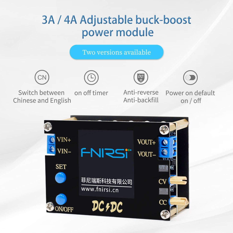 CC CV Power-Module Adjustable Boost/Buck-Converter Automatic Voltmeter Regulated 50W