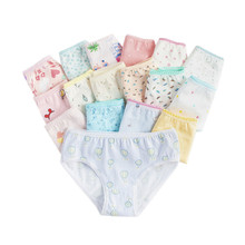 Panties Kids Briefs Short Baby-Girls Children Cotton 12pc/Lot 2-12Y
