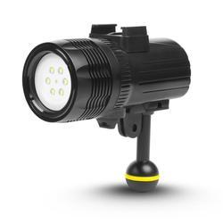 Dive Fill Light 1000 Lumen Underwater waterproof diving Torch Light For Go Pro Accessories Action Camera Diving Light Underwater