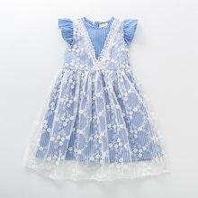 2020 летнее платье для маленьких девочек хлопковая кружевная