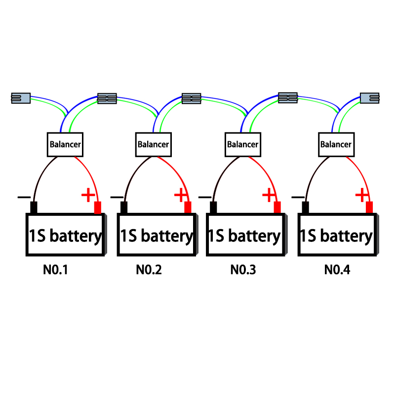 8 s 24 v qnbbm bateria de