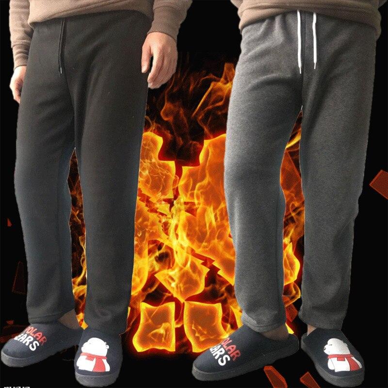 New Winter Flannel mens sleep bottoms soft warm sweatpants mens pajamas pants comfort Slacks pijamas loose casua trousers