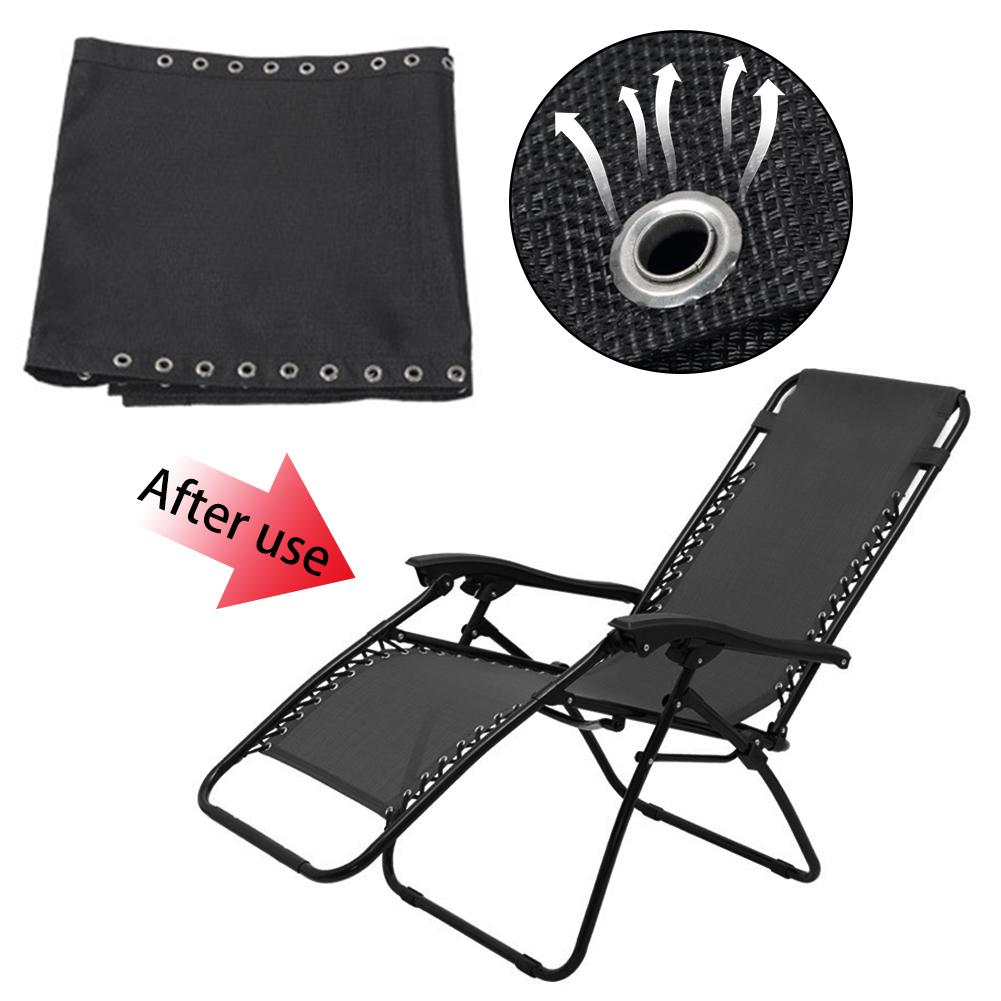 Chair Sling Patio Lounge Couch Recliner All Standard Universal Replacement Cloth
