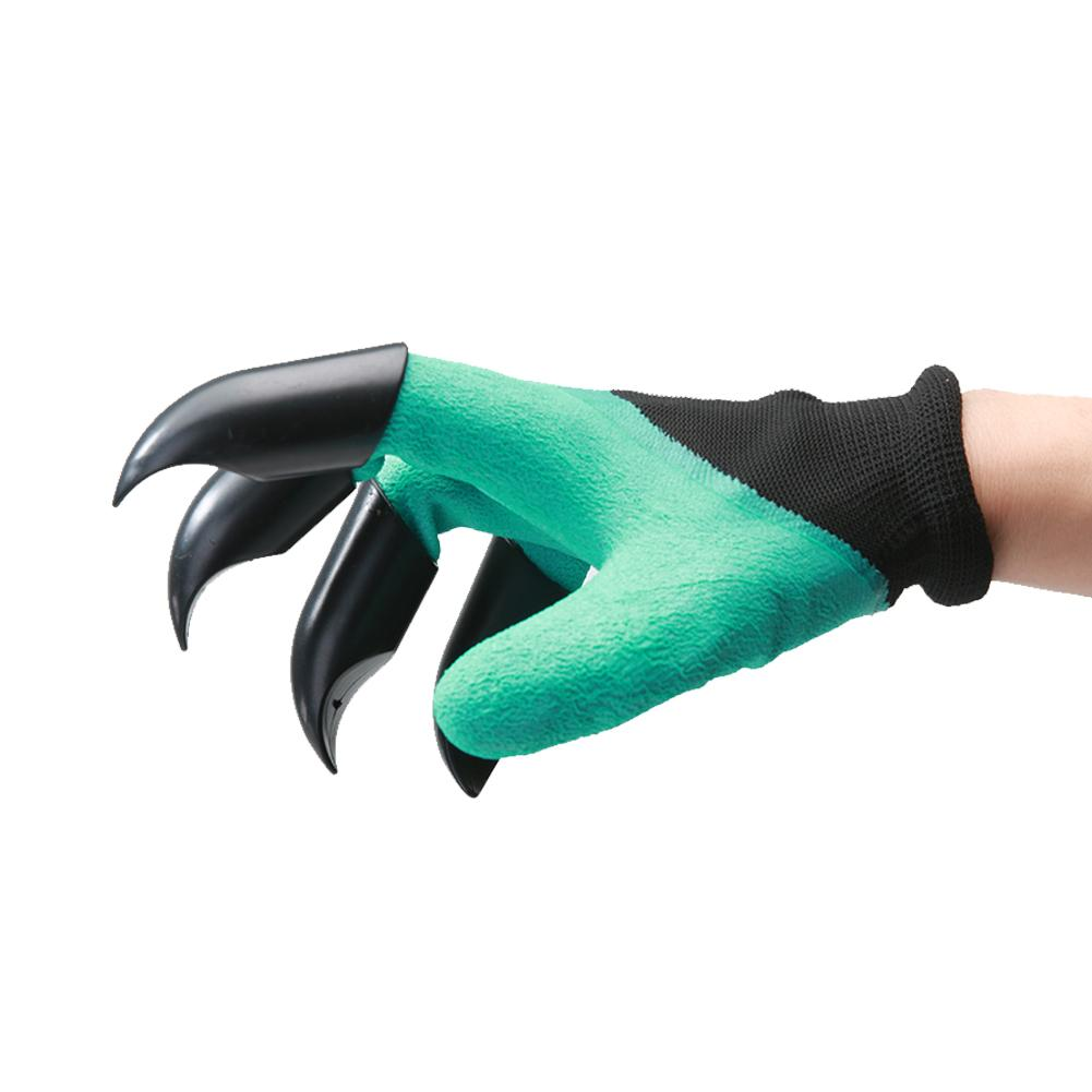 4Pcs Glove Plastic Claw Portable Planting Digging Protective Safety Party Decor ABS Gloves Supplies Garden Planting Tool