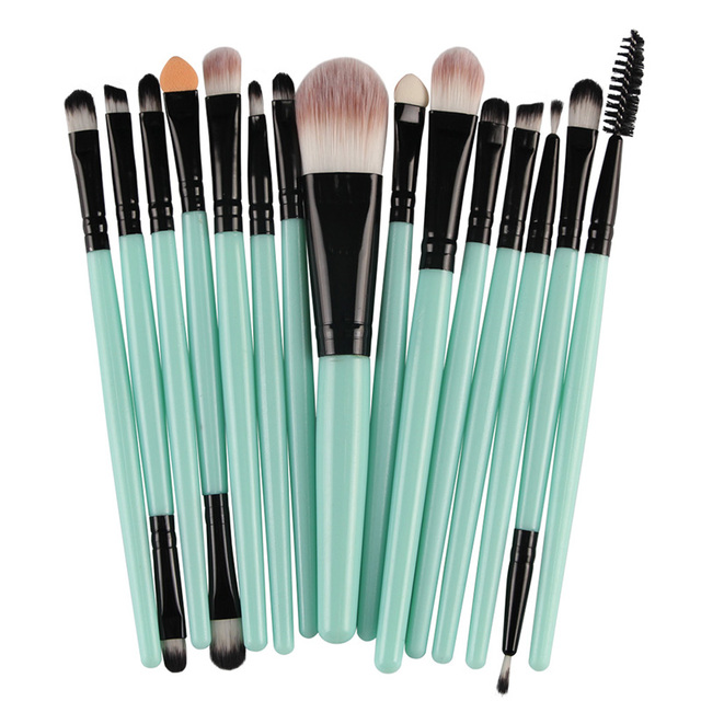 MAANGE 18/15/7Pcs Makeup Brushes Set Eyeshadow Brush Eyebrow Eyeliner Powder Blush Foundation Brush Pincel Maquiagem Beauty Tool 2