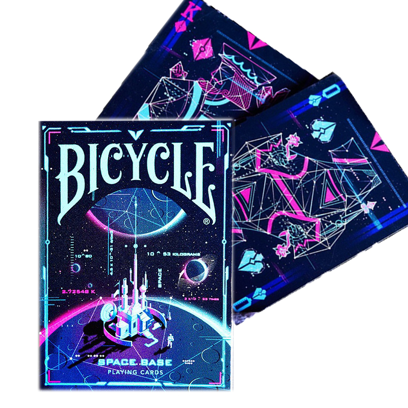 Bicycle Space Base Playing Cards Explore Universe Deck Poker Size USPCC Magic Card Games Magic Props Magic Tricks for Magician image