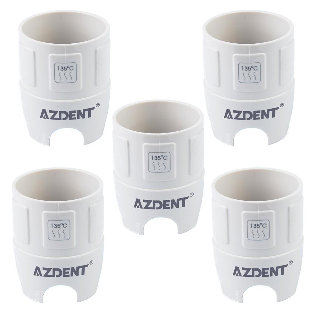 5Pcs AZDENT Dental Scaler Tips Torque Wrench For EMS Satelec Woodpecker DTE Handpiece Dentista Denta